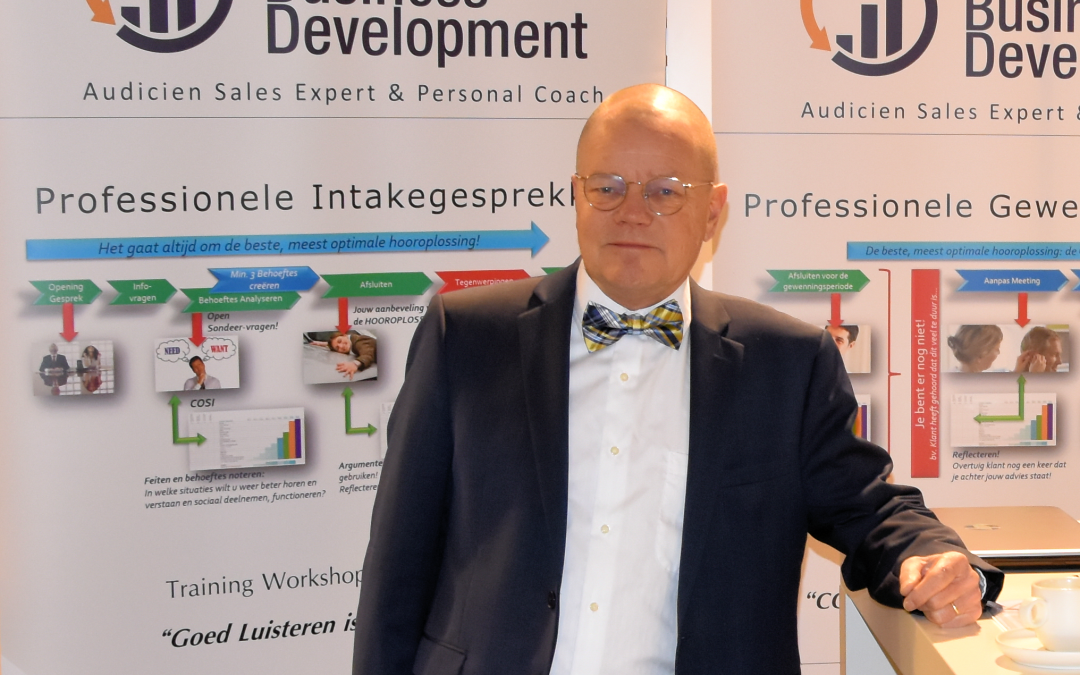 Masters of Business Development actief op Optitrade Audiologie Marathon 2019
